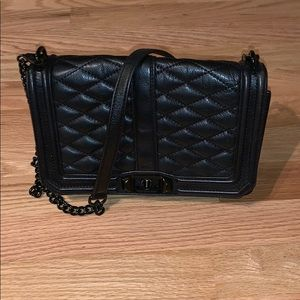 REBECCAMINKOFF Quilted Leather Shoulder Bag